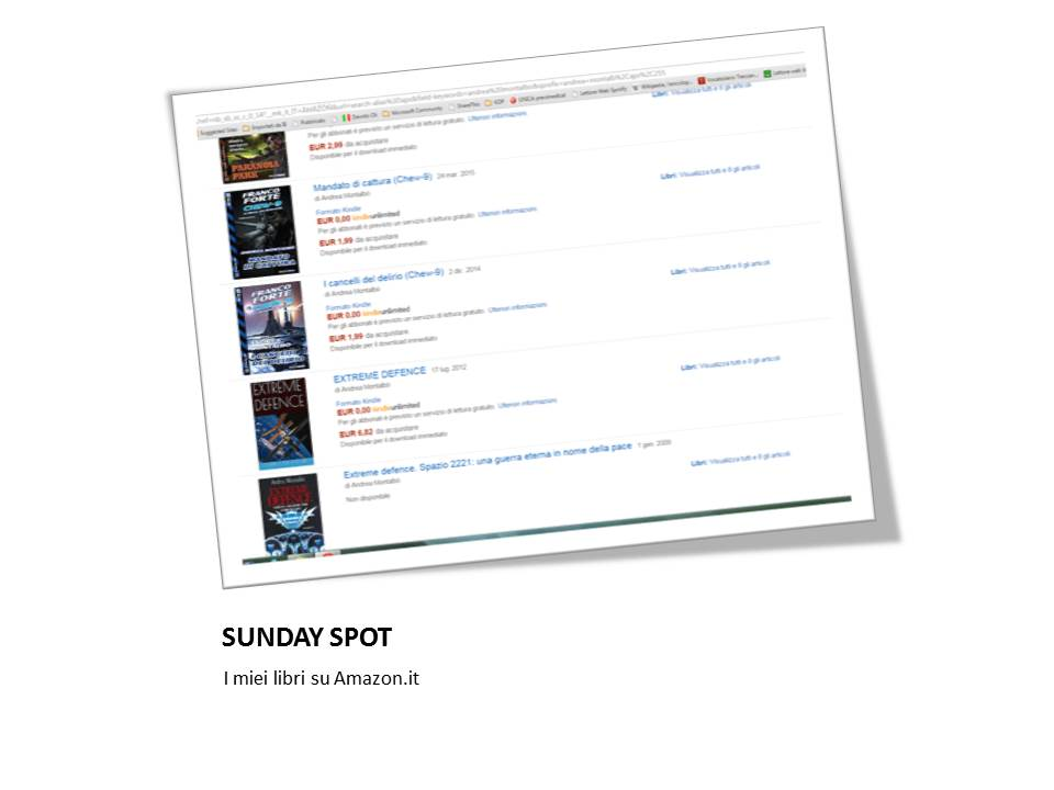 Sunday Spot, parte 2