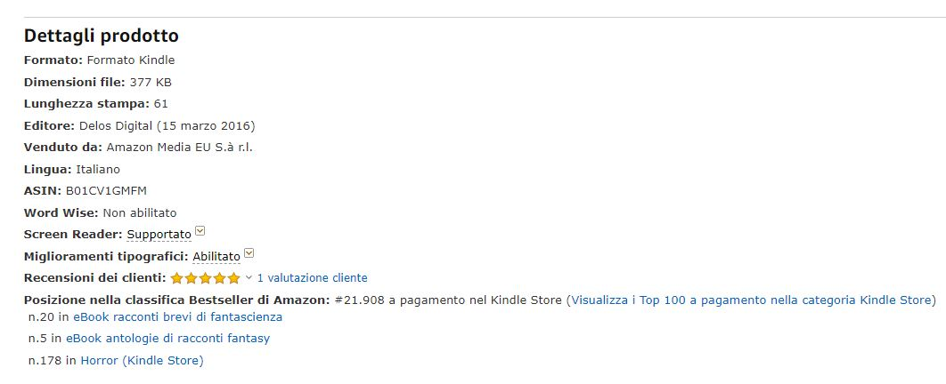Animali_classifica Amazon